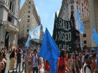 Arjantin'de Macri karşıtı ulusal grev
