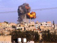 İdlib savaş uçakları tarafından bombalanıyor