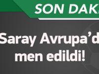 UEFA'dan Galatasaray'a tokat gibi ceza