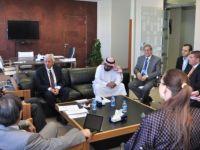 Prof. Bıçak Suidi Arabistan'ın Fahad Bin Sultan Üniversitesini denetledi