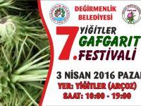 7. Yiğitler Gafgarıt Festivali 3 Nisan'da!