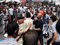 Filistin güvenlik güçleri protestocuları gözaltına aldı