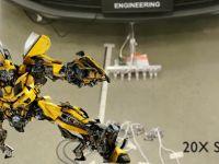 Transformers'deki mikrobotlar gerçek oldu! (video)