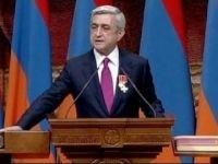 Ermenistan Cumhurbaşkanı,  Güney Kıbrıs'taki görüşmelere devam ediyor