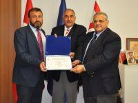 DAÜ ISO 9001:2008 VE ISO 10002:2014 belgelerini aldı