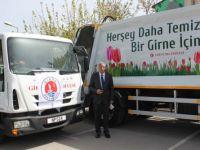 Girne Belediyesi, araç ve ekipman satın aldı