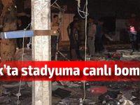 Irak'ta stadyumda intihar saldırısı