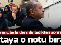 Cumhurbaşkanı Erdoğan, imam hatip lisesinde derse girdi