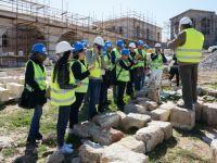 DAÜ İç Mimarlık Bölümü, Karpaz Apostolos Andreas Manastırı'na teknik gözlem gezisi düzenledi