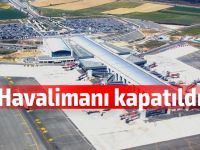 Larnaka Havalimanı kapatıldı!