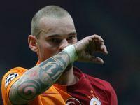 Galatasaray'dan Wesley Sneijder'e ceza