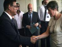 BM heyetinin başkanı Suriye'den ayrıldı