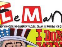 Leman'dan Erdoğan'ı kızdıracak Obama kapağı!