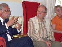 Güngördü, Emekli Akademisyen ve öğretmenlerden oluşan 25 kişilik Alman heyeti konuk etti