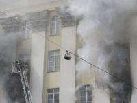 Rusya Savunma Bakanlığı yanıyor