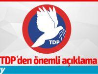 """TDP: """"Ülkede Çok Ciddi Çevre Sorunları Yaşanmaktadır"""""""
