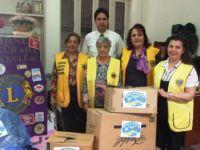 Girne Özgürada Lions Kulübü'nden KHYD Anlamlı Bağış