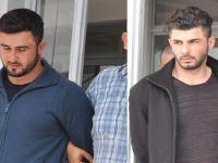 Polisleri darp ettiler, Teminatla serbest kaldılar...