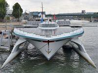 Güneş enerjisiyle çalışan gemi Paris'te