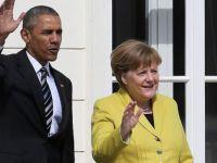 Obama'dan Merkel ziyareti