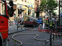 Almanya'da patlama
