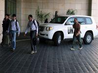 BM denetçileri Şam'dan ayrıldı
