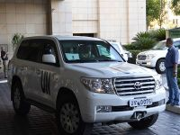 BM uzmanları Suriye'de