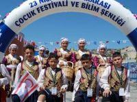 """Yeniboğaziçi Belediyesi folklor ekibi """"bılım ve çocuk"""" etkinliğine katıldı"""