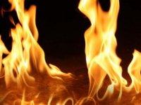 Eletrik direkleri yangına sebep oldu!