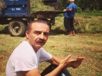 O artık bir vegan ve çiftçilik yapıyor...