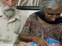 72 yaşındaki kadın anne oldu