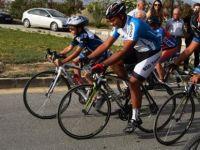 Festival bisikletle başladı