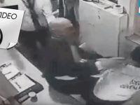 Eski bakan copla güvenlik görevlisi dövdü