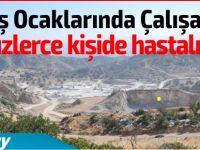 KKTC'deki taş ocaklarında çalışanlarda şok hastalık!