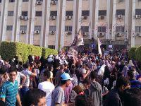 Ezher'de öğrencilere gazlı müdahale