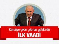 Yeni Başbakan Binali Yıldırım'dan ilk açıklama; Yıldırım Akbulut'u hatırlattı