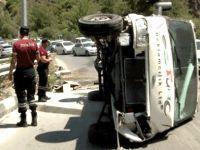 Ciglos'taki kaza ucuz atlatıldı...
