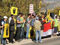 Bosna'da yaşayan Mısırlılardan ''darbe'' protestosu