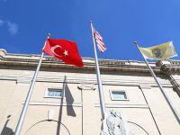 Amerika'da belediye binasında Türk bayrağı dalgalandı