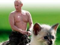 O sadece kedisini kaybetmiş bir lider...