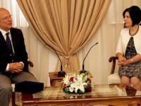 Siber, Binicilik Federasyonu Başkanlarını kabul etti