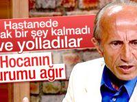 Yaşar Nuri Öztürk'ten üzücü haber