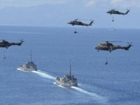 İtalya ve Fransa'yla askeri tatbikat