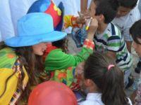 Büyükkonuk'tan çocukların yüzünü güldüren etkinlik!