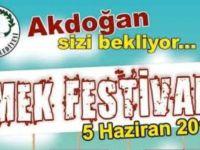 Akdoğan I. Emek Festivali yapılıyor!