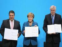 Almanya'da koalisyon sözleşmesi tamam
