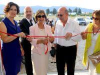 Meral Akıncı'dan Çatoz''da sergi açılışı