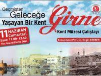 Girne Kent Müzesi Çalıştayı yarın gerçekleştiriliyor