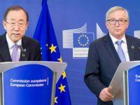 Ban-Juncker görüşmesi Rum basınında