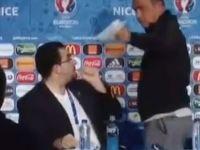 Fatih Terim basın toplantısında tercümanı fırçaladı!